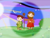 아들 이삭을 바친 아브라함